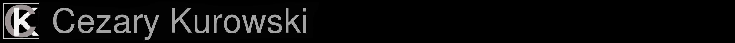 Cezary Kurowski Logo